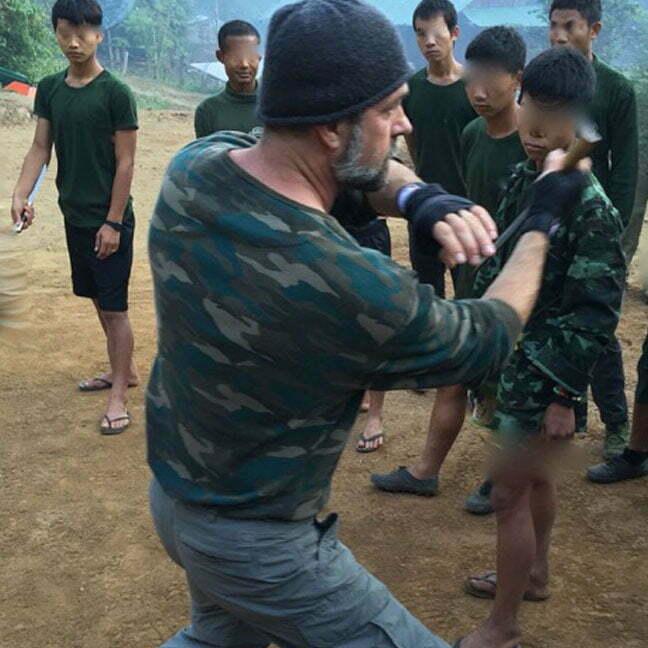 victor marx martial arts training